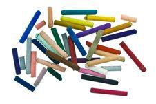 Free Pastel Sticks Royalty Free Stock Photos - 18398898