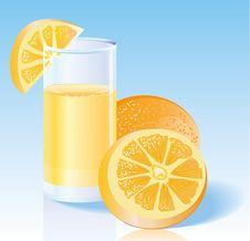 Free Fresh Orange Juice Royalty Free Stock Photography - 18399267