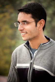 Handsome Indian Man Royalty Free Stock Photography