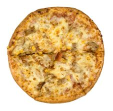 Cheesy Pizza Stock Image