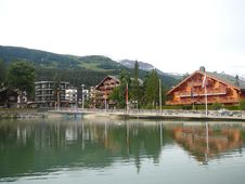Free Swiss Chalets Stock Image - 1840701