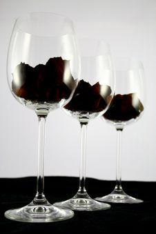 Free Glass Line Up Royalty Free Stock Photography - 1841587