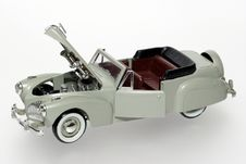 Free 1941 Lincoln Continental Classic Toy Car Stock Photography - 1842632