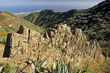 Free Wall At La Caldera De Los Marteles Stock Images - 1842754
