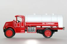 Free 1930 Mack AC Oil Car Classic Toy Car Sideview Stock Photos - 1842773