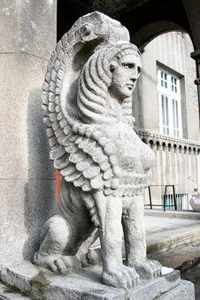 Free Stone Sphinx 01 Stock Images - 1843074