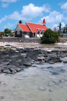 Free Church On Beach Stock Photo - 1843950