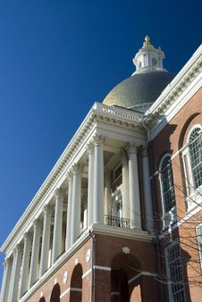 Free Massachusetts State House Stock Photo - 1845170