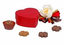 Free Valentine Chocolates Royalty Free Stock Photos - 1845198