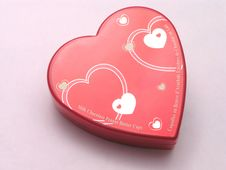 Free Valentines Candy Box - Hearts 1 Royalty Free Stock Image - 1845756