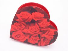 Free Valentines Candy Box - Roses 3 Stock Photography - 1845972