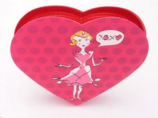 Free Valentines Candy Box - XOXO 1 Stock Photo - 1845990