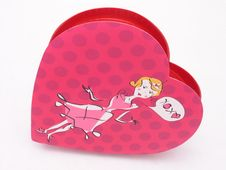 Valentines Candy Box - XOXO 3 Royalty Free Stock Images