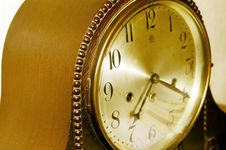 Free Old Antique Clock Stock Photography - 1846172