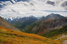 Free Mountains And Glacier. Royalty Free Stock Photos - 1846318