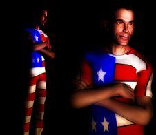 Free US Shirt Men 5 Stock Images - 1847374