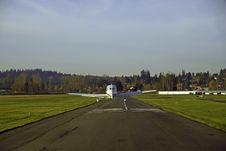 The Landing Stock Image