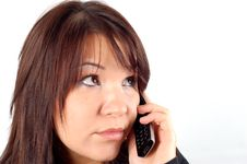 Free Phone Woman 8 Royalty Free Stock Photography - 1848637