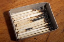 Free Burnt Matches Royalty Free Stock Photo - 1849205