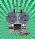 Free Recording Equipment. Stock Photography - 18408162