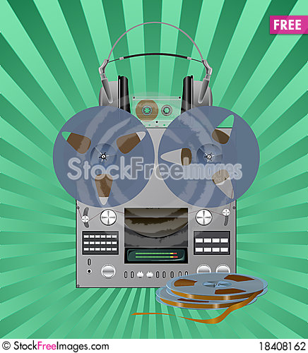 Free Recording Equipment. Stock Photography - 18408162