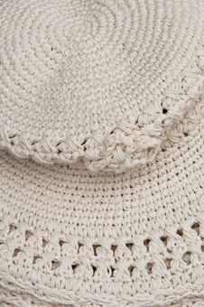 Free Knitted Flat Hat Stock Photo - 18400000