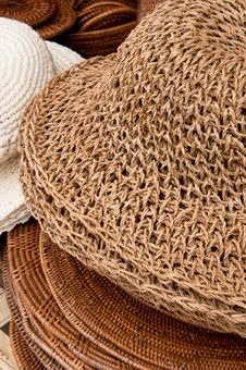 Free Woven And Knitted Hat Stock Images - 18400054