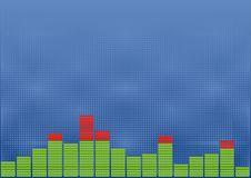 Free Sound Level Background Royalty Free Stock Images - 18400249