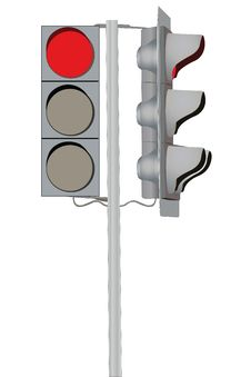 Free Traffic Lights Royalty Free Stock Photos - 18400568