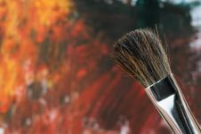 Free Paintbrush Royalty Free Stock Images - 18400939