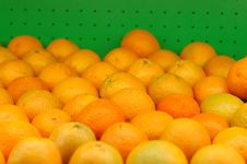 Free Oranges At Market Stock Images - 18401544