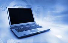 Free Black Laptop Royalty Free Stock Photo - 18401765