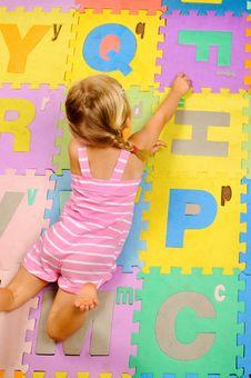 Free Learning Alphabet Stock Photo - 18402110