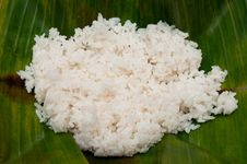 Free Organic Steamed Rice Royalty Free Stock Photo - 18403195