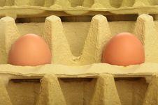 Egg Box Background Royalty Free Stock Images