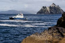 Free Boat In Dramatic Scenery Royalty Free Stock Photography - 18407137