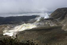 Free Galapagos Sulfur Volcano Stock Photography - 18407722