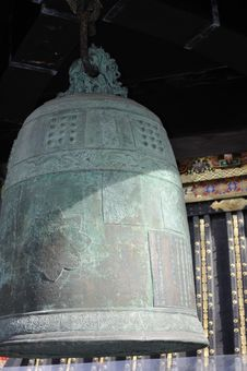 Free Korean Bell In Toshogu, Nikko, Japan Royalty Free Stock Image - 18407726