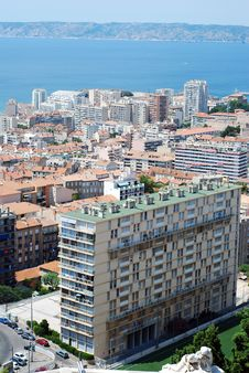Free View On Marseilles Buildings Royalty Free Stock Photography - 18407967