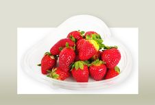 Free Strawberries. Stock Photo - 18408070