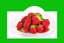 Free Strawberries. Royalty Free Stock Images - 18408099