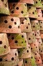 Free Many Clay Pots Royalty Free Stock Photos - 18413928