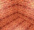 Free 3D Brick Angle Royalty Free Stock Photo - 18416595