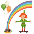 Free Set Of Patrick S Day Icons Stock Image - 18419261