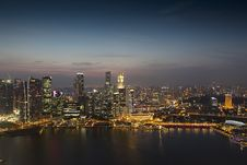 Free Singapore Night View Stock Photos - 18410733