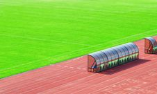 Free Coach And Reserve Bench Stock Images - 18412504