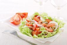 Free Fresh Vegetable Salad Royalty Free Stock Images - 18412869
