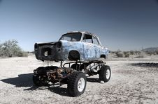 Off Road Vintage. Royalty Free Stock Image