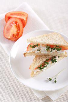 Free Vegetarian Sandwiches Stock Photos - 18414273