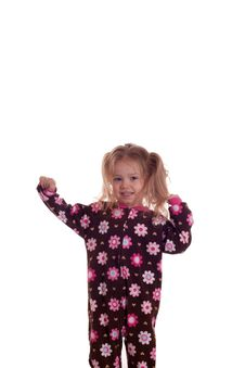 Free Young Child Stretching Stock Photo - 18414570